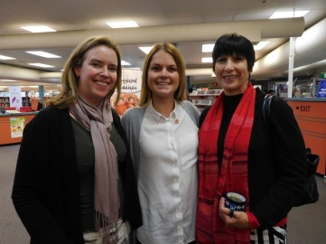 Dr Hazel Dalton, Hayley Nicholls and Dr Donna Read