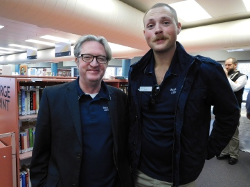 Collegaues from Bathurst Library (Shane and Shane)